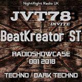 BeatKreator ST Set 2  Radio Showcase  JVT78 Invite 13/01/2018