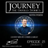 Journey - 21 guest mix by Chris Cargo (UK) on Cosmos Radio [08.08.17]