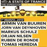 Jorn van Deynhoven - A State of Trance 600 (Sao Paulo, Brazil) - 01.03.2013