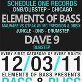 Elements of Bass LIVE @ BASS&BLISS (12-3-2011)