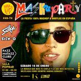 Mashuparty #46 - DJ Surda & Sick-O (MashCat Team) - PopBar Razzmatazz (2016/01/17)