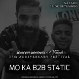 Moka B2b St4tic At Johnny Pereira 37º Aniversário ● Open Air  at Sky Bar Expo 4 decks