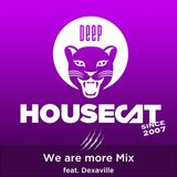 Deep House Cat Show - We are more Mix - feat. Dexaville