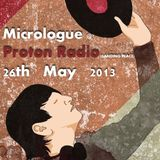 26th May 2013 Micrologue @ Proton Radio (Landing Place)
