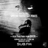 Aems ft Sgt Pokes & Orien - SubFM - Show006 - 26_02_17