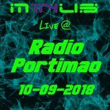 M1NUS - Live @ Radio Portimnao (10-09-2018)