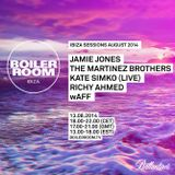 Ibiza Sessions Richy Ahmed Boiler Room 8.13.14