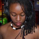 Miss Ebony Rocking the 90's Old skool mix