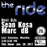 Sean Kosa @ The Ride EP 11 - January 28 2017