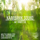 Kaarbanik Sound w/ Hartta @ Ujima 98FM [Feb 7th 2018]