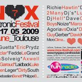 Dirty South - Live @ Inox Electronic Festival 2009 Toulouse (France) 2009.05.14.