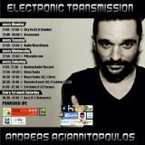 Andreas Agiannitopoulos (Electronic Transmission) Radio Show_164