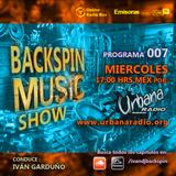 "2019.11.27 ""Backspin Music Show"" Programa 007 - Urbana Radio"