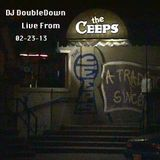 DJ DoubleDown Live Old School Set from The Ceeps 2-23-13