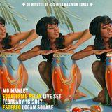Maximum Conga: Mo Manley at Equatorial Relay February 2017