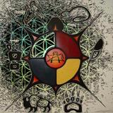 AZ.REDSMOKE - ANI-YUN-WIYA - SACRED MOVEMENT LIVE SET 6-26-2015 CONCOW LAKE