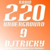 DJTricky - 220 Underground Volume 9 (Fall 2007) **TOP TEN PROGRESSIVE HOUSE