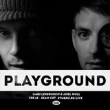 Cari Lekebusch & Joel Mull @ Studio Brussel - Playground (15.02.2014)