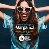 Ibiza Live Radio Dj Mix (Tribal & Funky Mood) - Global House Session with Marga Sol
