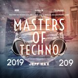 Masters Of Techno Vol.209 by Jeff Hax
