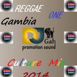 REGGAE ONE GAMBIA CULTURE MIX - Vol.1- 2014