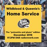 Wildblood & Queenie's Home Service: The December Poinsetta and Plums Edition