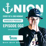 UNION BIWEEKLY PODCAST 002 - DJ 1KUN
