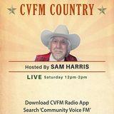CVFM Country with Sam Harris 20 August 2017