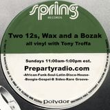Two 12s Wax and a Bozak Show  12-11-16 Edition with Tony Troffa