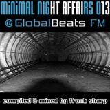MINIMAL NIGHT AFFAIRS 013 with FRANK SHARP