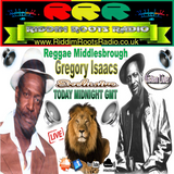 RRR - REGGAE M PLAYS GREGORY ISAACS  22-7-2015