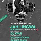 DJ WAR (SALENTO)  JAH LINGWA (aka Markie Lyricks - RDK HI FI) Brixton UK - IN PLAY AT PORTICCIOLO