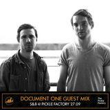 Document One Guest Mix - Skankandbass London - 27.09.17