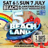 dj's Mike B vs Sammir @ Beachland - Insomnia Nights Stage 07-07-2013
