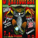 Móvil de Buji en la Tattoo Fest Buenos Aires en el Bauen #FAN128