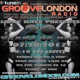 GrooveLondon.com 07-28-2017 Show 155