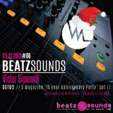 Beatz Sounds #06 - 25.12.2015 - Set 02 'Primary Club Set 17102015' by Victor Simonelli