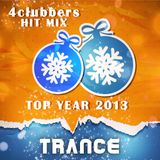 4Clubbers Hit Mix Top Year 2013 - Trance (CD1)