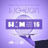 House Music Menu #16 - Senior Johnson