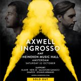 Axwell Λ Ingrosso @ Heineken Music Hall Amsterdam Oct 22nd 2016