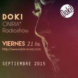 Doki - Oniria Radioshow @Nube Music * Septiembre 2015
