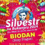 Biodan @ NYE (music houseboat Bukanyr - December 31, 2014 - from 10.00 PM till midnight)