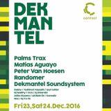 dekmantel live mix @contact 12.23.2016