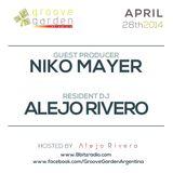 Niko Mayer & Alejo Rivero @ Groove Garden Radio Experience | 2014_04_28