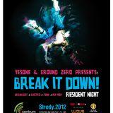 "Ground Zero - Club Ing. vol. 3 ""BREAKZ & DRUMZ"" (10.10.2012 Break it Down! Live @ CMC)"