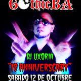 UXORIA | GOTHIC BA | 18th Anniversary | 12/10/19