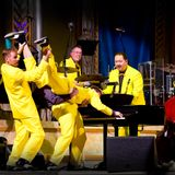 Sticks show with Letitia George and The Jive Aces