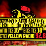 Η 14η εκπομπή του SUPER-3 στο YellowRadio 92,8 (21.11.16)