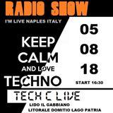 TECH C I'M LIVE NAPLES ITALY FROM LIDO IL GABBIANO