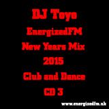 DJ Toyo - EnergizedFM New Years Mix 2015 (Club, Dance) (CD3)